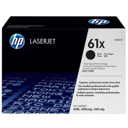 HP Toner 61X Black C8061D