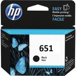 C2P10AE - HP 651 Black Cartridge Ink, 600 Pages