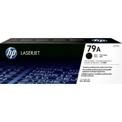 HP 79A LaserJet Black Toner Cartridge, 1000 Pages, CF279A